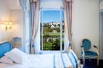 Une chambre de l'hotel Gallia