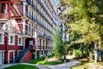 Le parc de l'hotel Gallia