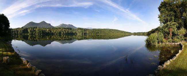 L'embarcadè du Lac de Lourdes