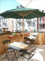La terrasse du restaurant le Magret